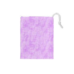 Hidden Pain In Purple Drawstring Pouch (small) by FunWithFibro