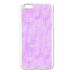 Hidden Pain In Purple Apple Iphone 6 Plus Enamel White Case by FunWithFibro