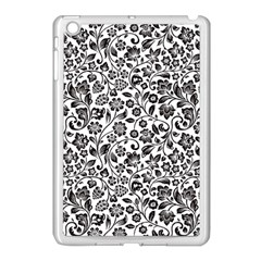 Elegant Glittery Floral Apple Ipad Mini Case (white) by StuffOrSomething