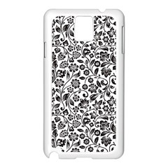 Elegant Glittery Floral Samsung Galaxy Note 3 N9005 Case (white) by StuffOrSomething