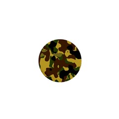 Camo Pattern  1  Mini Button by Colorfulart23