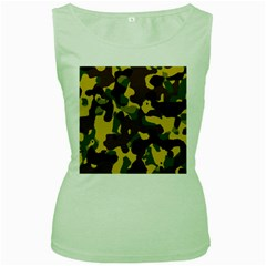 Camo Pattern  Women s Tank Top (green)