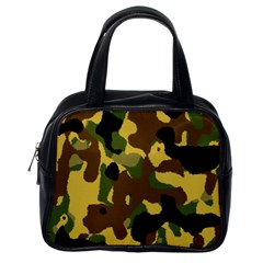 Camo Pattern  Classic Handbag (one Side) by Colorfulart23