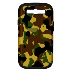 Camo Pattern  Samsung Galaxy S Iii Hardshell Case (pc+silicone)