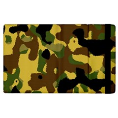 Camo Pattern  Apple Ipad 2 Flip Case by Colorfulart23