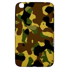 Camo Pattern  Samsung Galaxy Tab 3 (8 ) T3100 Hardshell Case  by Colorfulart23