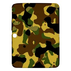 Camo Pattern  Samsung Galaxy Tab 3 (10 1 ) P5200 Hardshell Case  by Colorfulart23