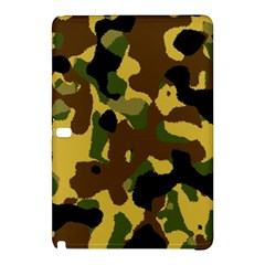 Camo Pattern  Samsung Galaxy Tab Pro 12 2 Hardshell Case by Colorfulart23