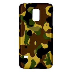 Camo Pattern  Samsung Galaxy S5 Mini Hardshell Case  by Colorfulart23