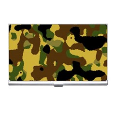 Camo Pattern  Business Card Holder by Colorfulart23