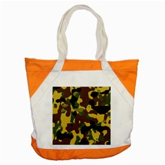 Camo Pattern  Accent Tote Bag