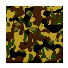 Camo Pattern  Face Towel by Colorfulart23