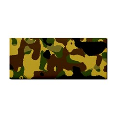 Camo Pattern  Hand Towel by Colorfulart23