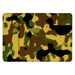 Camo Pattern  Samsung Galaxy Tab 8 9  P7300 Flip Case by Colorfulart23