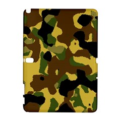 Camo Pattern  Samsung Galaxy Note 10 1 (p600) Hardshell Case by Colorfulart23
