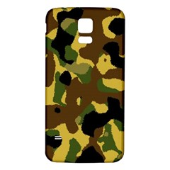 Camo Pattern  Samsung Galaxy S5 Back Case (white)