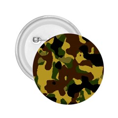 Camo Pattern  2 25  Button by Colorfulart23