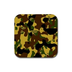 Camo Pattern  Drink Coasters 4 Pack (square) by Colorfulart23