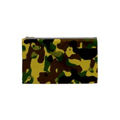 Camo Pattern  Cosmetic Bag (small)