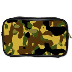 Camo Pattern  Travel Toiletry Bag (two Sides) by Colorfulart23