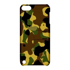 Camo Pattern  Apple Ipod Touch 5 Hardshell Case With Stand by Colorfulart23