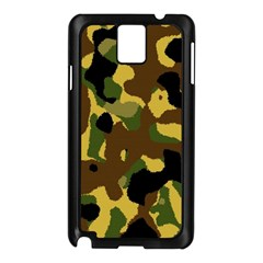 Camo Pattern  Samsung Galaxy Note 3 N9005 Case (black) by Colorfulart23