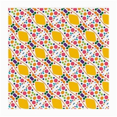 Dots And Rhombus Glasses Cloth (medium, Two Sides) by LalyLauraFLM