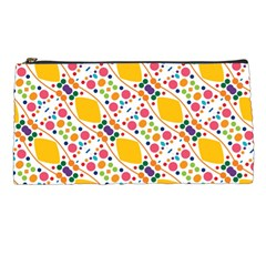 Dots And Rhombus Pencil Case by LalyLauraFLM