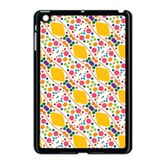Dots And Rhombus Apple Ipad Mini Case (black) by LalyLauraFLM