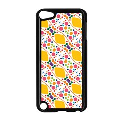 Dots And Rhombus Apple Ipod Touch 5 Case (black) by LalyLauraFLM