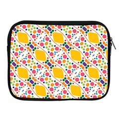 Dots And Rhombus Apple Ipad 2/3/4 Zipper Case by LalyLauraFLM