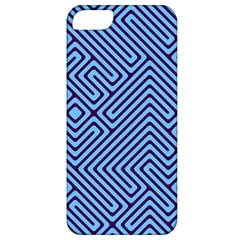 Blue Maze Apple Iphone 5 Classic Hardshell Case by LalyLauraFLM