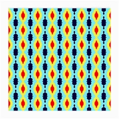 Yellow Chains Pattern Glasses Cloth (medium, Two Sides) by LalyLauraFLM