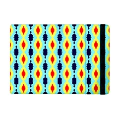 Yellow Chains Pattern Apple Ipad Mini Flip Case by LalyLauraFLM