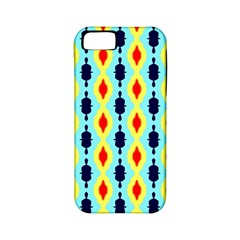 Yellow Chains Pattern Apple Iphone 5 Classic Hardshell Case (pc+silicone) by LalyLauraFLM