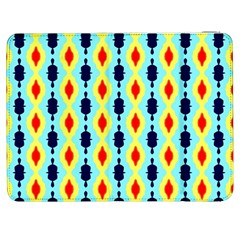 Yellow Chains Pattern Samsung Galaxy Tab 7  P1000 Flip Case by LalyLauraFLM