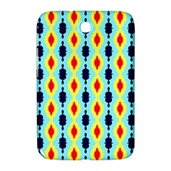 Yellow Chains Pattern Samsung Galaxy Note 8 0 N5100 Hardshell Case  by LalyLauraFLM