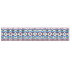 Aztec Style Pattern In Pastel Colors Flano Scarf (large) by dflcprintsclothing