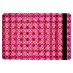 Abstract Pink Floral Tile Pattern Apple Ipad Air Flip Case by creativemom
