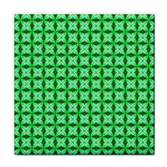 Green Abstract Tile Pattern Ceramic Tile by creativemom