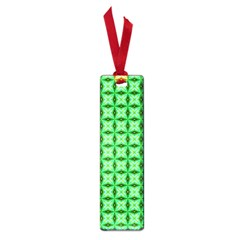 Green Abstract Tile Pattern Small Bookmark by creativemom