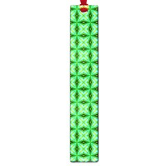 Green Abstract Tile Pattern Large Bookmark by creativemom