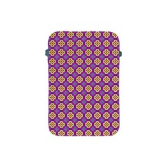 Purple Decorative Quatrefoil Apple Ipad Mini Protective Sleeve by creativemom