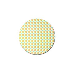 Aqua Mint Pattern Golf Ball Marker 10 Pack by creativemom