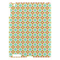 Aqua Mint Pattern Apple Ipad 3/4 Hardshell Case by creativemom