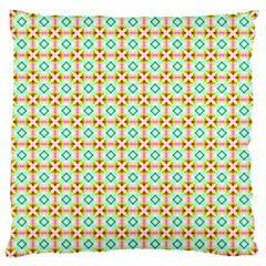 Aqua Mint Pattern Large Cushion Case (single Sided)  by creativemom