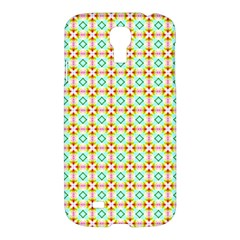 Aqua Mint Pattern Samsung Galaxy S4 I9500/i9505 Hardshell Case by creativemom