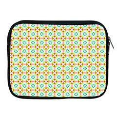 Aqua Mint Pattern Apple Ipad Zippered Sleeve by creativemom