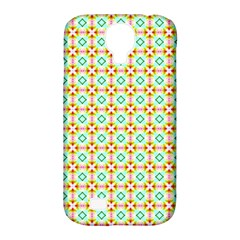 Aqua Mint Pattern Samsung Galaxy S4 Classic Hardshell Case (pc+silicone) by creativemom