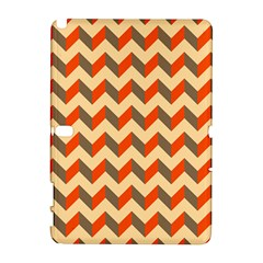 Modern Retro Chevron Patchwork Pattern  Samsung Galaxy Note 10 1 (p600) Hardshell Case by creativemom